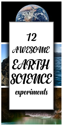 12 earth science experiments
