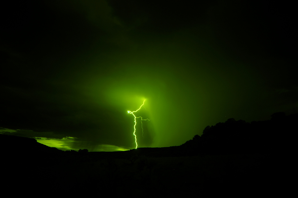 Green lightning: Is it real, and what does it mean?